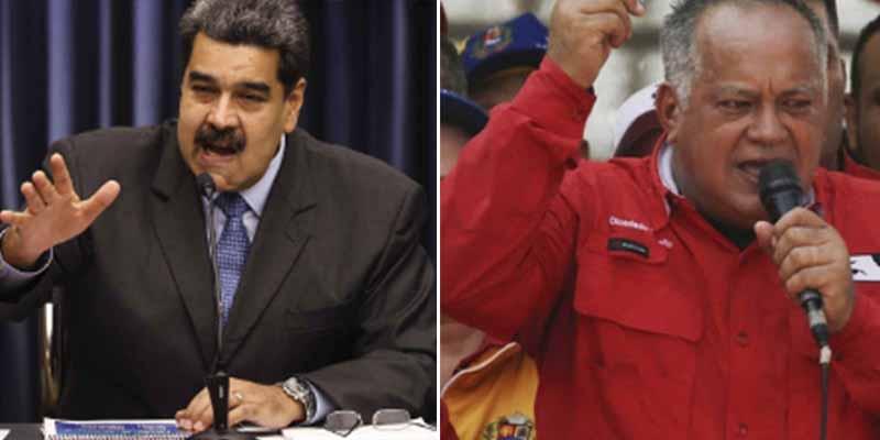 Guerra entre los 'hijos' de Chávez: Maduro 'entierra' a Diosdado Cabello