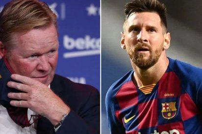 Koeman pone en lista de 'descartes' a tres históricos del Barça: Suárez, Busquets y Alba