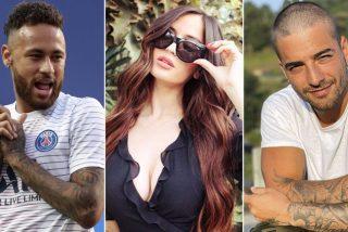 Neymar, Maluma y Natalia Barulich: amores, sexo, goles, celos y cuernos