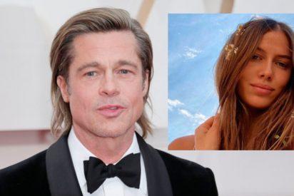 Brad Pitt se presenta en público con la modelo alemana Nicole Poturalsk, su nueva novia