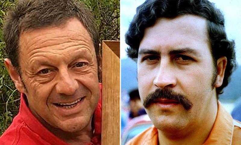 Este tipo jura ser el primogénito de Pablo Escobar y conocer la clave del tesoro del capo narco