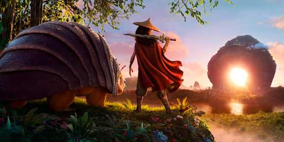 """Primeras imágenes de """"Raya y el último dragón"""", la esperada película de Walt Disney"""