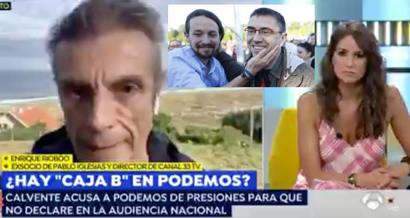 Enrique Riobóo, ex socio de Pablo Iglesias, acusa al jefe de Podemos de cobrar de Irán en billetes de 500 euros