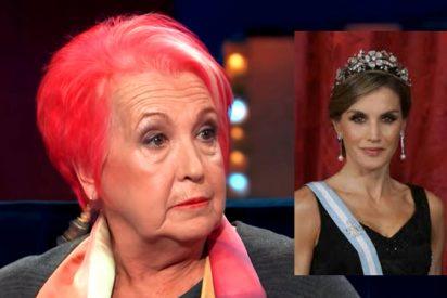 """Rosa María Calaf: """"La Reina Letizia ha tirado la toalla"""""""