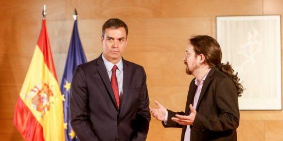 'Tic, tac, tic, tac': ¿A qué espera Sánchez para expulsar del Gobierno a Iglesias y a Unidas Podemos?