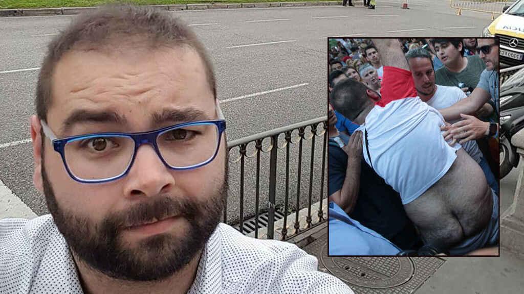 Sergio Álvarez, el del PSOE que atacaba 'culo al aire' a los de Ciudadanos, califica de 'vergüenza' los escraches a Iglesias
