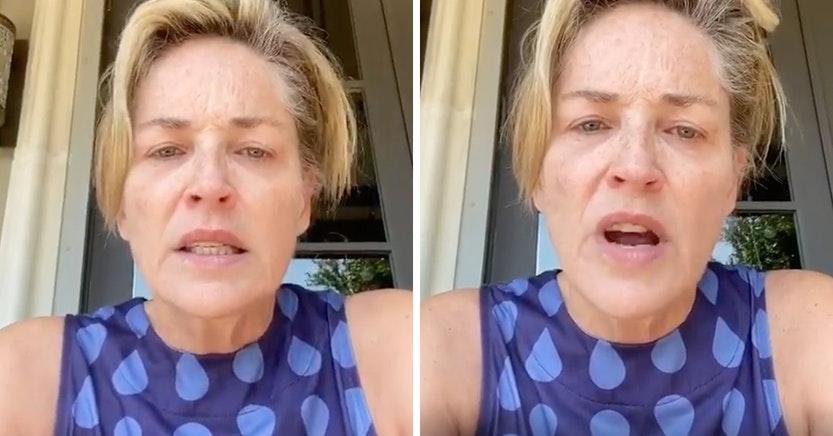 """Sharon Stone insulta a Donald Trump tras morir su abuela de Covid: """"Asesino"""""""
