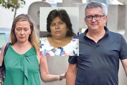 La empleada doméstica de Victoria Rosell y del socialista Sosa, pide 4 años de cárcel para la pareja de la podemita por 'coacciones'