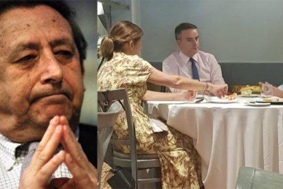 """Pillan a Marhuenda comiendo con Iván Redondo y Ussía lo 'guillotina': """"En La Razón mandan Sánchez, Iglesias y Rasputín"""""""
