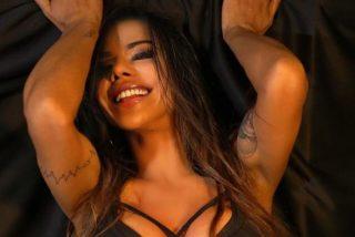 Suzy Cortez, alias 'Miss Bum Bum', luce su provocador tanguita