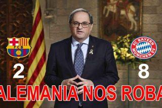 Berrinche independentista: el pufo del Barça es el de Cataluña