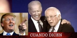 Trump se burla en español del progre Biden y lo mete en el mismo saco que Maduro o Castro