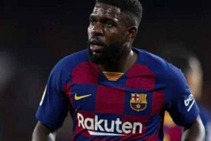 COVID-19 en el FC Barcelona: Samuel Umtiti da positivo por coronavirus