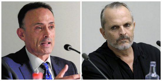 """Luis Ventoso receta dosis de información a Miguel Bosé por sus """"boberías"""" sobre el coronavirus"""