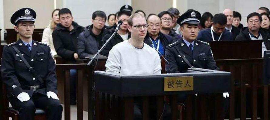 China condena a muerte a un canadiense por fabricar una droga