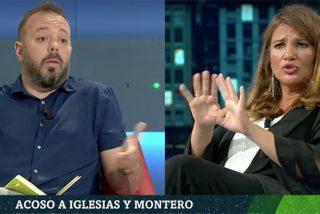 """María Claver entierra el 'escrache' vacacional de Iglesias y Montero en la cara misma de Antonio Maestre: """"¡No toméis el pelo a la gente!"""""""