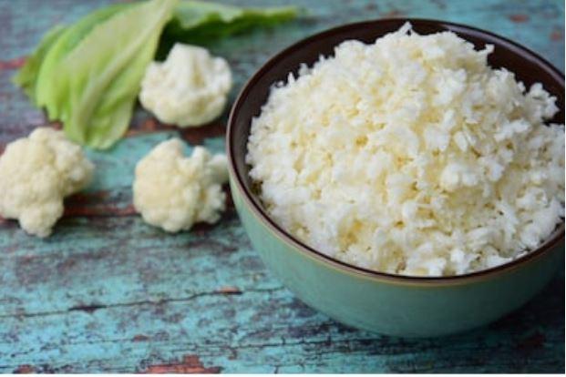 Arroz de coliflor: receta fácil y saludable👌