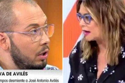 """Toñi Moreno pilla a José Antonio Avilés dando una información falsa en directo: """"¡Estás mintiendo, tío"""""""