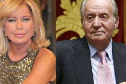 """Bárbara Rey le mete un estacazo a Puigdemont: """"Don Juan Carlos se va en avión y de día, no en un maletero como un cobarde"""""""