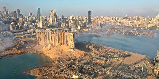 El deteriorado barco ruso 'detrás' de la gran explosión de Líbano