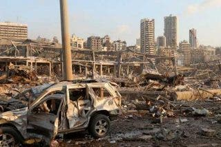 Líbano se 'atrinchera' y rechaza una investigación internacional sobre la explosión en Beirut