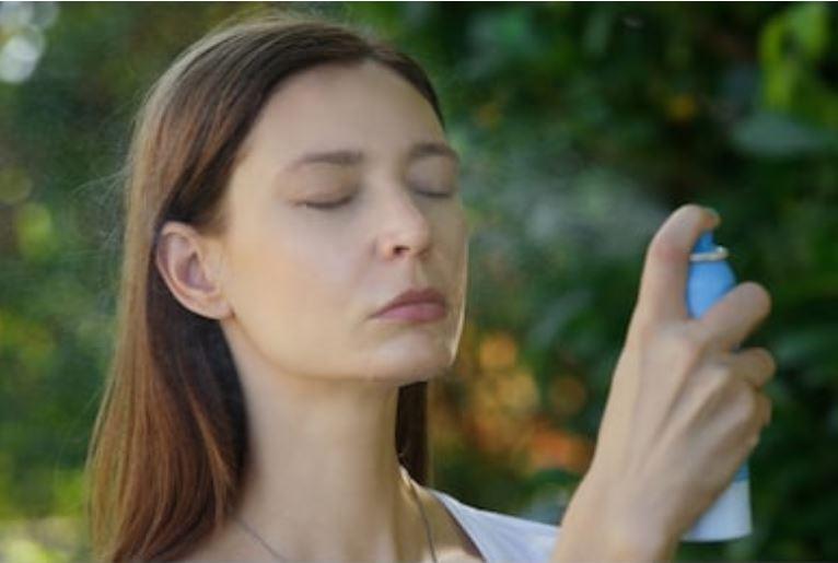 bruma facial o agua facial