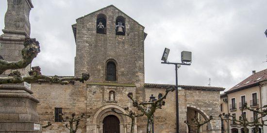 El Camino de Santiago entre Carrión de los Condes y Sahagún