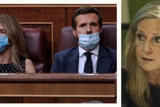 """Isabel San Sebastián zarandea al PP por el show Casado-Cayetana : """"¿Hay algún estratega digno en Génova 13?"""""""