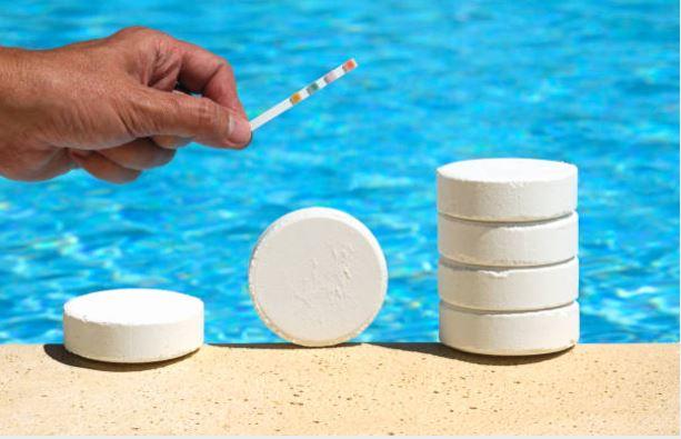 cloro piscinas