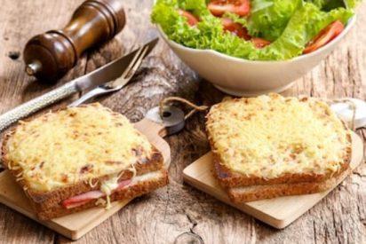 Receta del sándwich croque monsieur