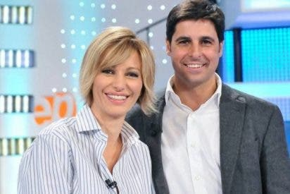 Turbas de 'progres' arremeten en tropel contra Antena 3 por ascender a Fran Rivera en 'Espejo Público'