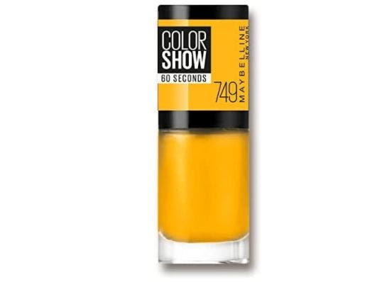 Maybelline Color Show 749 Electric Yellow
