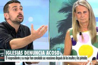 Isabel San Sebastián acorrala a Ramón Espinar en TV y el expodemita termina por agachar la cabeza