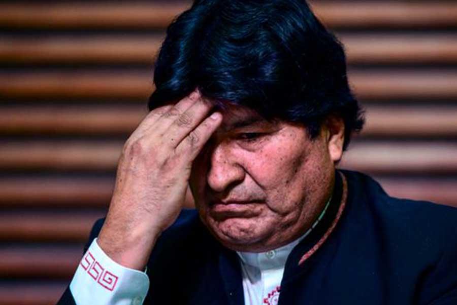 Evo Morales da positivo en COVID-19 y está bajo cuidados médicos