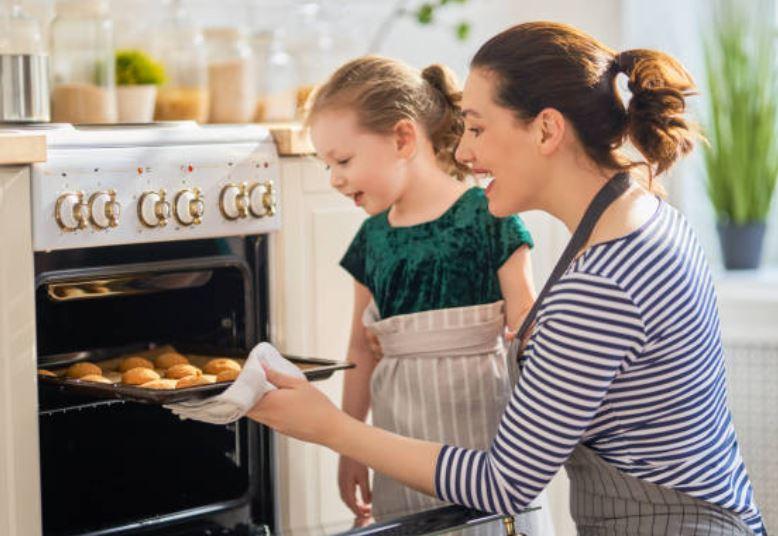 preparar galletas con niños