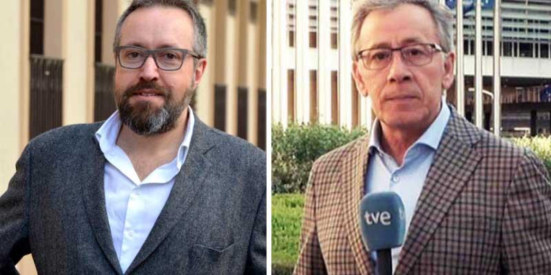 """Riña salvaje entre Girauta y el corresponsal de TVE José Ramón Patterson: """"¡Oportunista su señor padre!"""""""