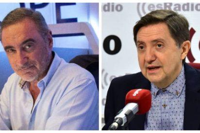 Carlos Herrera deja tirado a uno de sus colaboradores estrella y Losantos lo repesca para esRadio
