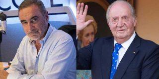"""Carlos Herrera: """"El asesino de ETA Josu Ternera en su casa, tan pancho, y Juan Carlos, el rey de la democracia, fuera de ella"""""""