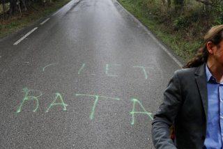 El supuesto acoso a Iglesias y Montero se diluye como la pintada: ni siquiera estaba cerca de la casa sino en otro pueblo