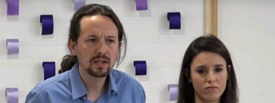 El veto 'artístico' de Podemos se hace viral: brutal viñeta de cómo Pablo Iglesias 'asciende' a Irene Montero