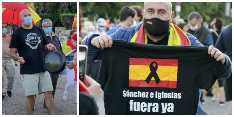 """El impulsor de las manifestaciones frente al casoplón de Podemos, con un par: """"No me intimida que Iglesias pida para mí 14 años de cárcel"""""""