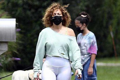 ¿Jennifer López, gorda? Sus leggings están a punto de estallar y desata la polémica en las redes sociales