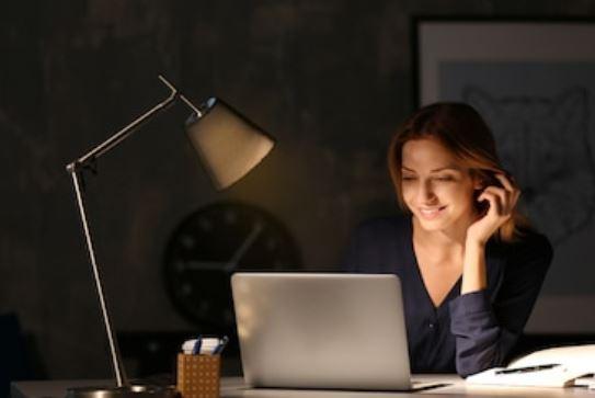 iluminación del lugar de trabajo