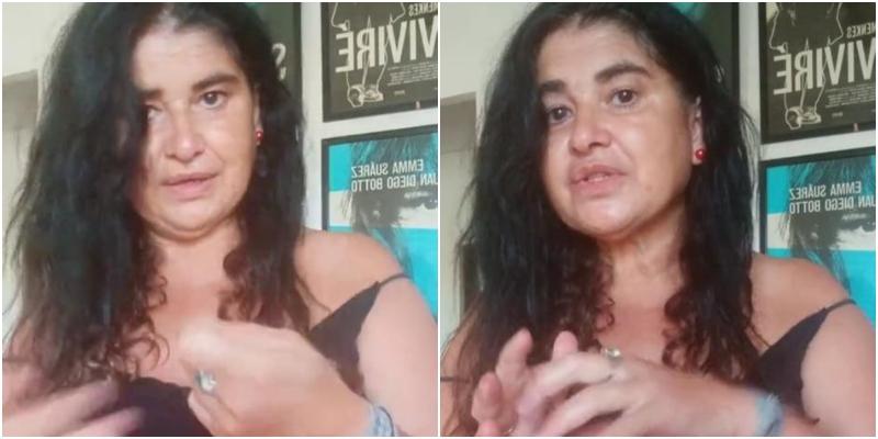 """Lucía Etxebarria se cubre de gloria """"jugando"""" a la farmacéutica con una tuitera: """"¡Te deberían enchironar!"""""""