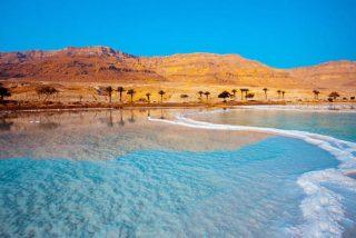 Los misteriosos pulsos que emite el Mar Muerto mientras se seca