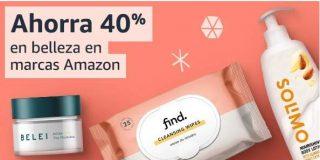 productos de belleza marca Amazon con hasta -40%
