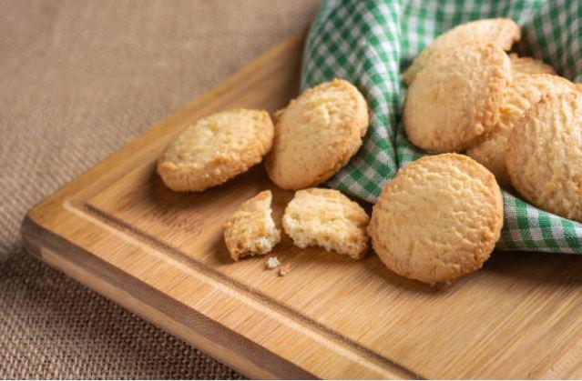 galletas caseras con aroma a naranja y canela