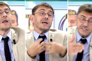 Un nuevo show de Monedero en TV defendiéndose de las corruptelas de Podemos se lleva el enésimo rapapolvo