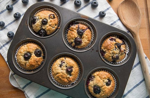 muffins de aránanos