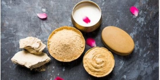 Multani Mitti secreto de belleza de la India